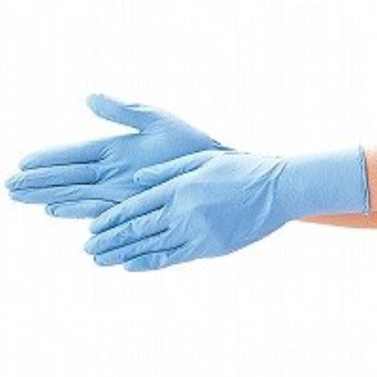 クランプ離婚口実エブノ ニトリル手袋 No.526 M 青 (100枚入×20箱) ディスポニトリル パウダーフリー ブルー