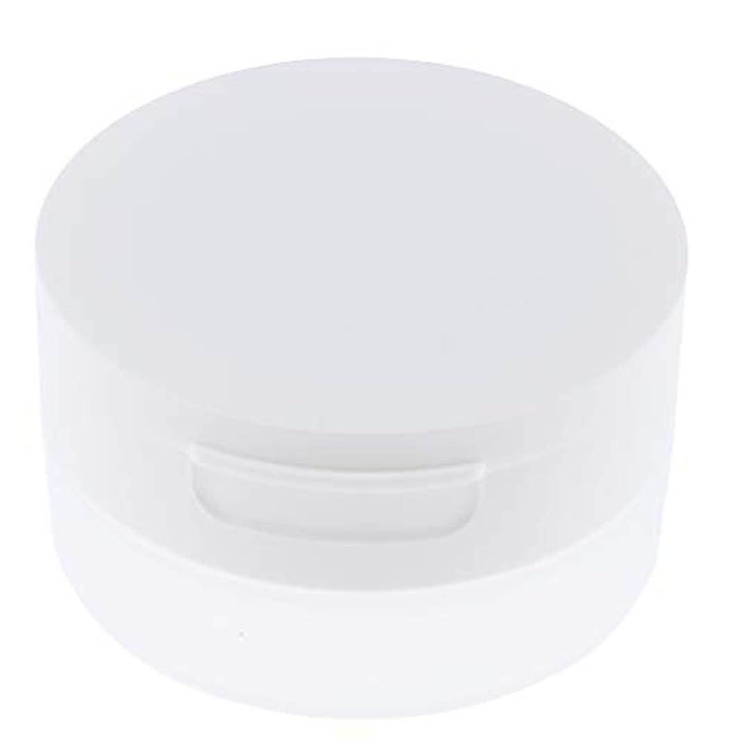 砂利粘性の買うルースパウダーケース 旅行 空ケース メイクアップ パウダー 容器 ポット 2サイズ選べ - 50g