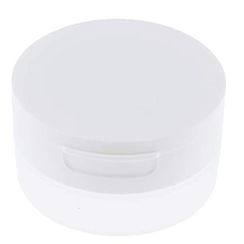 キリストブラシ常にPerfeclan ルースパウダーケース 旅行 空ケース メイクアップ パウダー 容器 ポット 2サイズ選べ - 50g