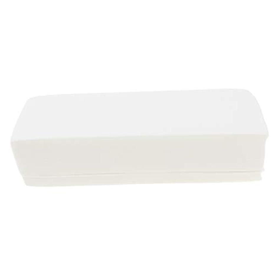 入浴消化重要な約100枚 脱毛紙 脱毛ペーパー 不織布 脱毛ワックス用ストリップ 衛生的