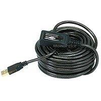 ケーブルUK USB 2.0オス–メスA–Aアクティブ延長ケーブル15M