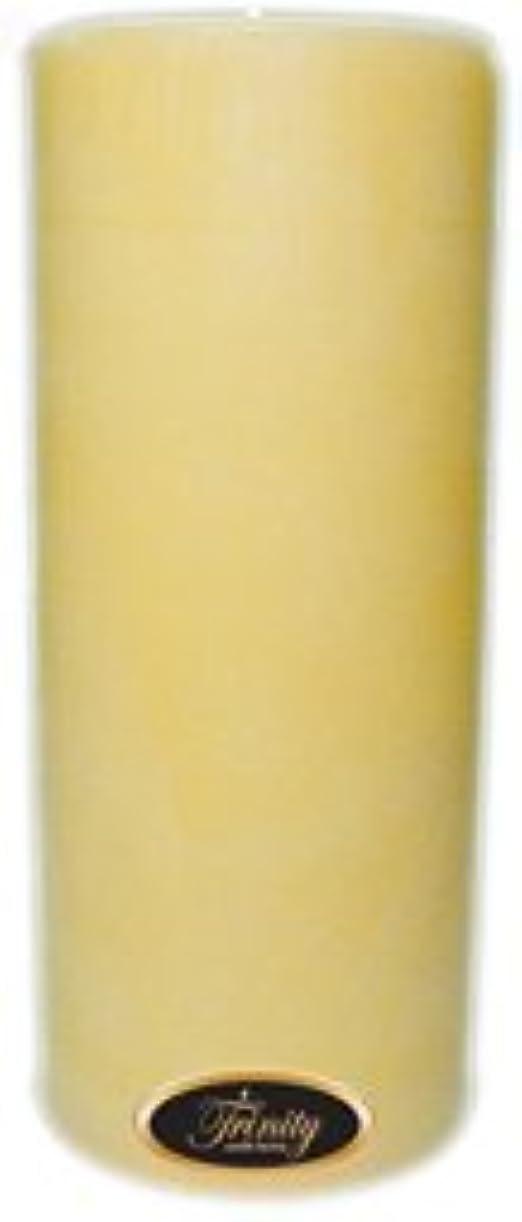 有罪お尻ジャグリングTrinity Candle工場 – クリーミーバニラ – Pillar Candle – 4 x 9