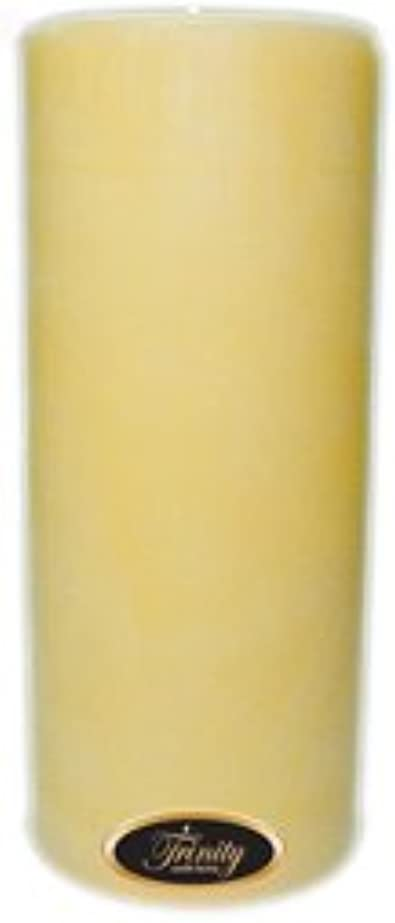 イブニング土柔らかい足Trinity Candle工場 – クリーミーバニラ – Pillar Candle – 4 x 9