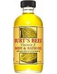 バーツビー(バーツビーズ) レモン&ビタミンE バスアンドボディオイル 118ml さらにお得な3個セット