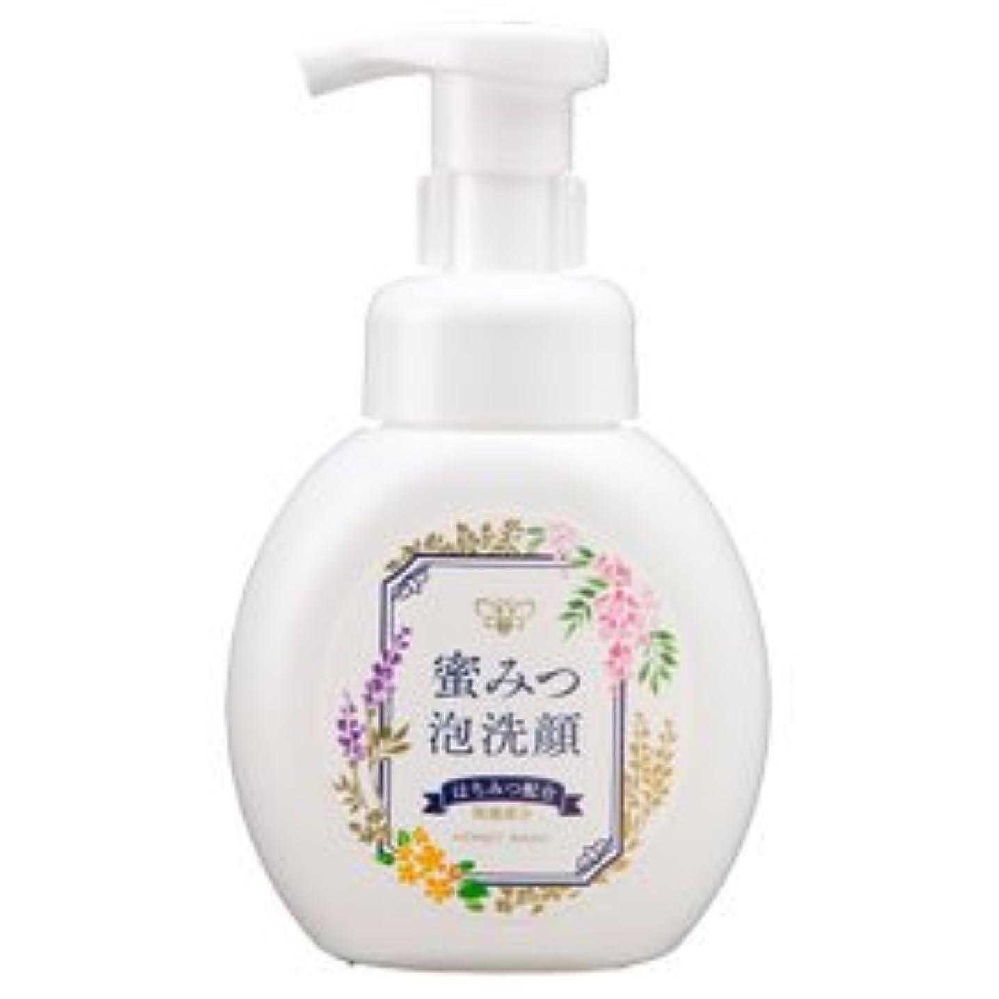 生息地緩む効率蜜みつ泡洗顔 250mL