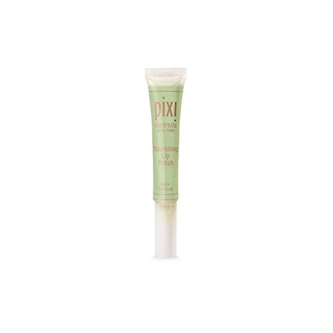 詩人広い虚弱Pixi Nourishing Lip Polish (Pack of 6) - 栄養リップポリッシュ x6 [並行輸入品]