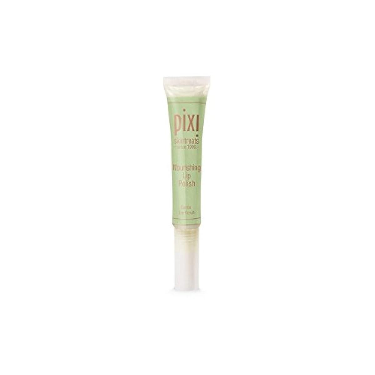 フェザー巨大確認する栄養リップポリッシュ x4 - Pixi Nourishing Lip Polish (Pack of 4) [並行輸入品]