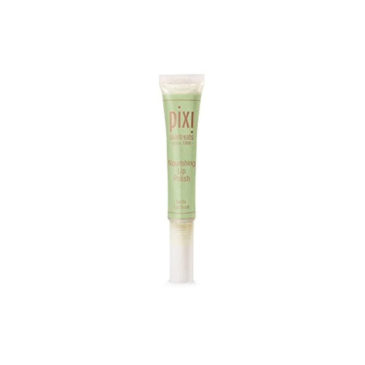 壊す粗い破裂栄養リップポリッシュ x2 - Pixi Nourishing Lip Polish (Pack of 2) [並行輸入品]