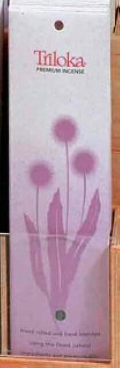 小石スズメバチ部分Lotus Champa – TrilokaプレミアムIncense Sticks