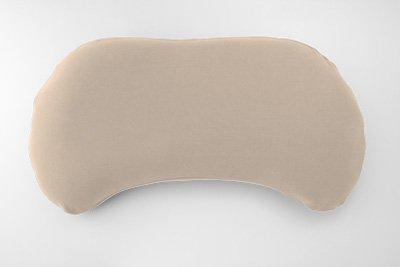 まくらのキタムラ ジムナストキッズ 枕 & カバー セット [枕:さくら / カバー:コットンスムースベージュ]