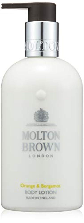 肺ドキドキブロックMOLTON BROWN(モルトンブラウン) オレンジ&ベルガモット コレクション O&B ボディローション
