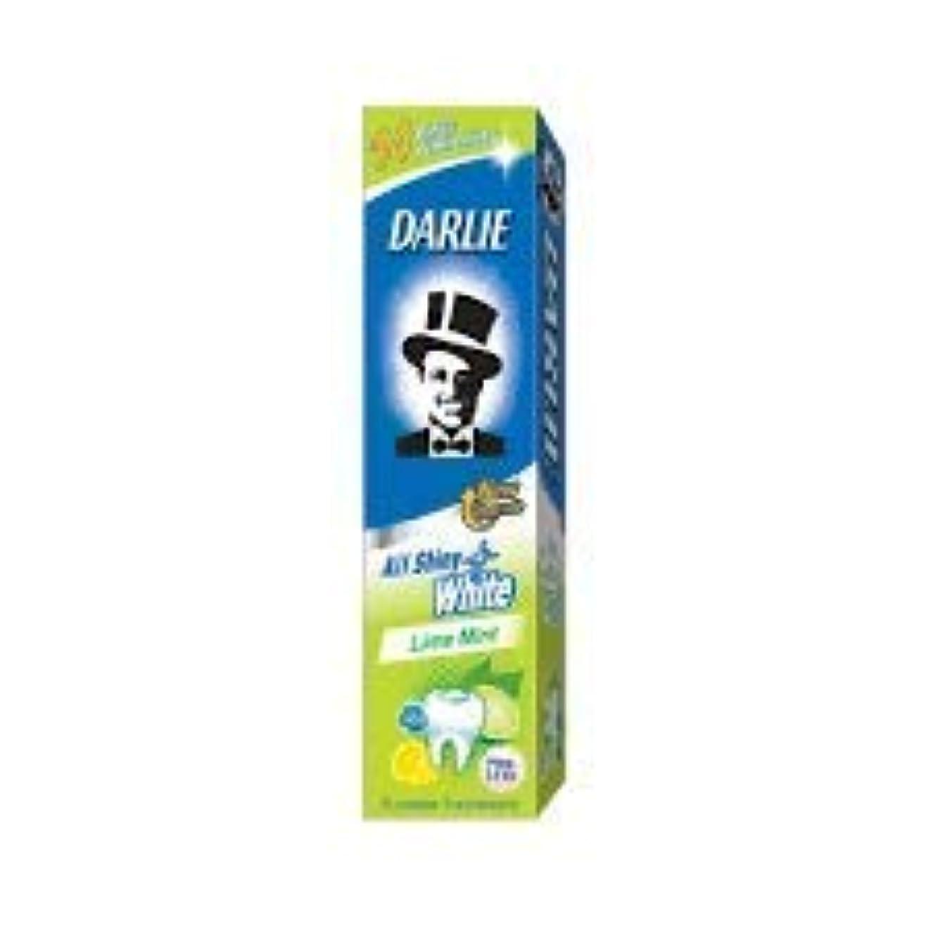 起きている小道ドナーDARLIE 歯磨き粉すべての光沢のあるホワイトライムミント140g - 虫歯と戦い、歯を保護するフッ化物を含みます