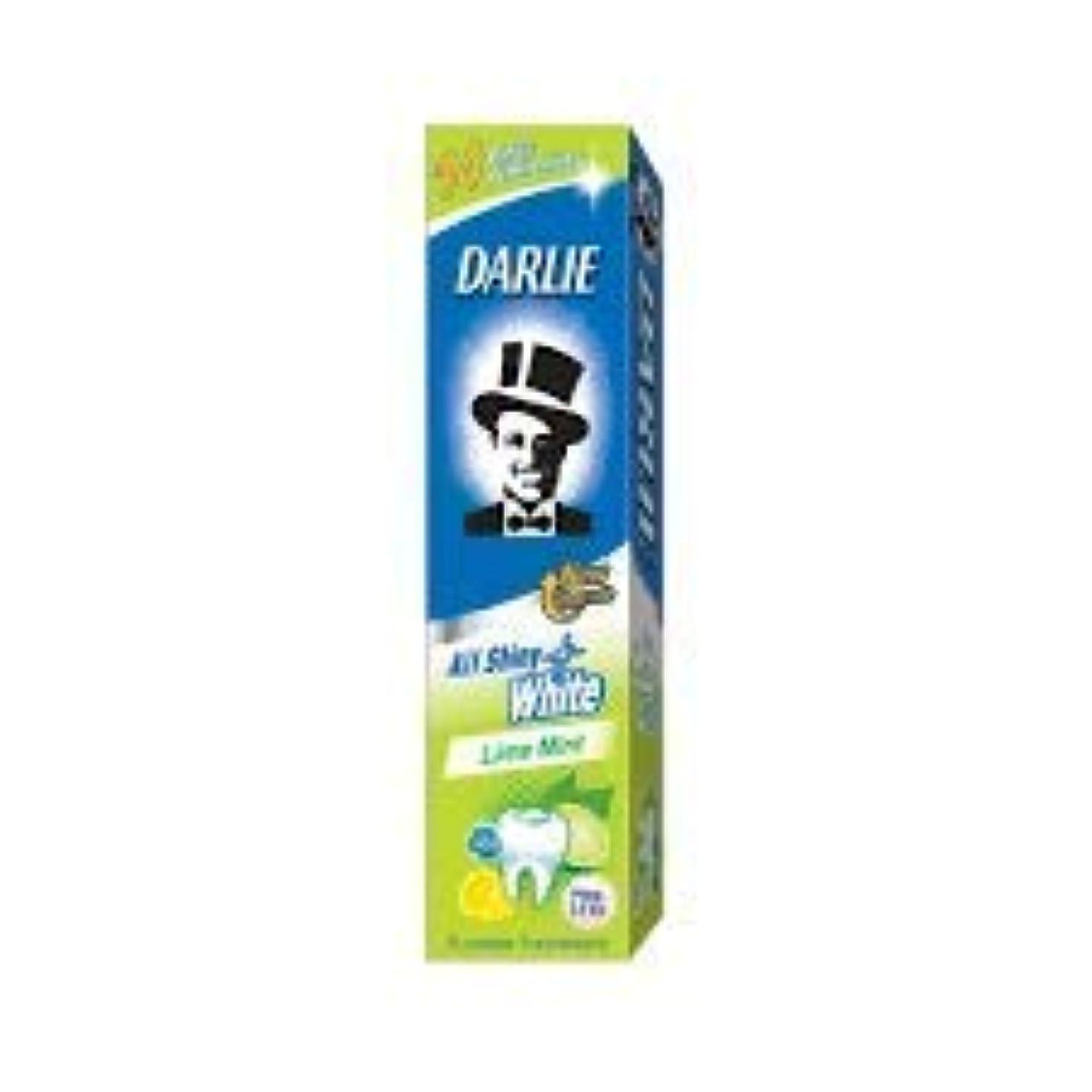 守るコール鳴らすDARLIE 歯磨き粉すべての光沢のあるホワイトライムミント140g - 虫歯と戦い、歯を保護するフッ化物を含みます