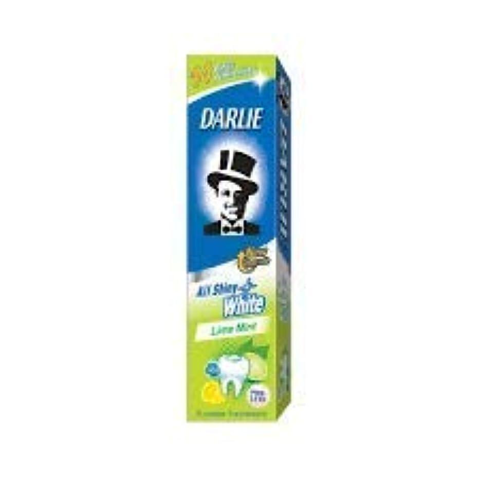 全部ウェイド反毒DARLIE 歯磨き粉すべての光沢のあるホワイトライムミント140g - 虫歯と戦い、歯を保護するフッ化物を含みます