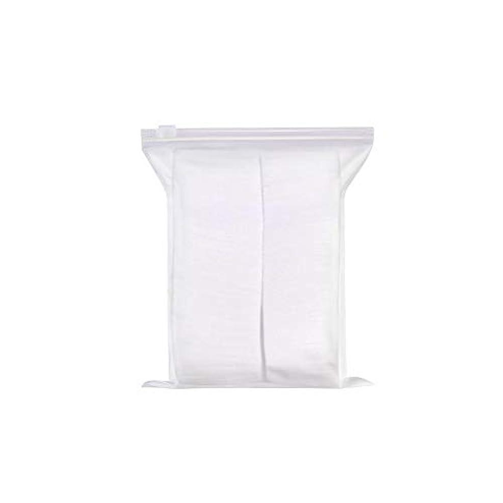 霧匹敵します鉄240PCSスクエア綿の綿の除去、顔のメイクアップリムーバーパッド