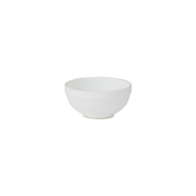 成功した反射従順なマイスター カラーボウル (Sサイズ) 直径6.5cm ホワイト [ カラーボール プラスチックボウル プラスチックボール カップボウル カップボール エステ サロン プラスチック ボウル カップ 割れない 歯科 ]