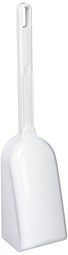 プラッツ トイレケースブラシ付 ナイロン ホワイト 81806(1コ入)