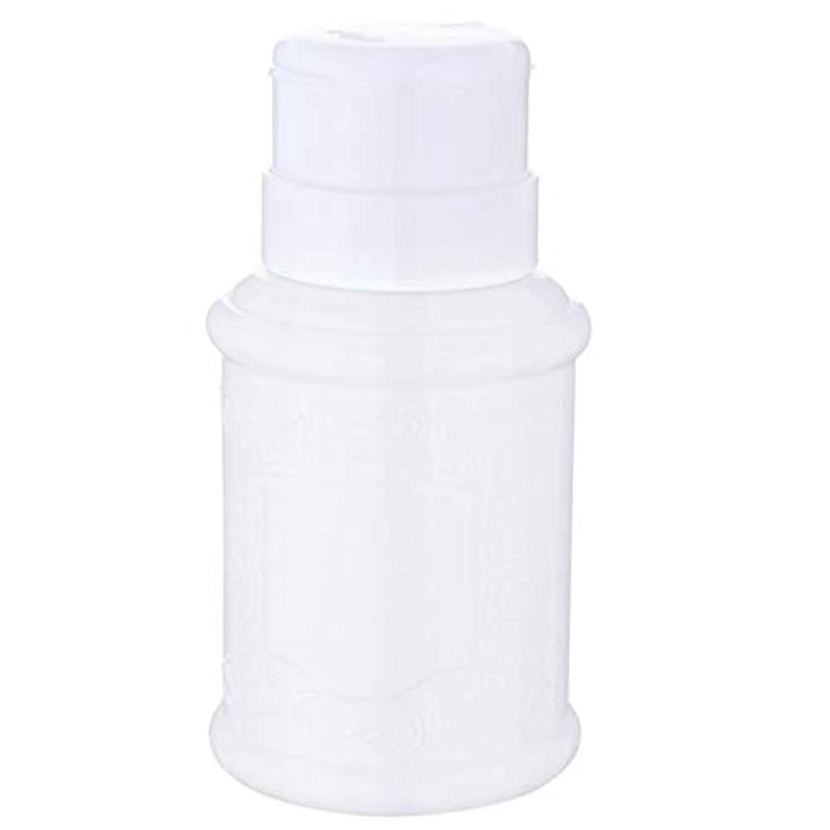 ロッドブルすきT TOOYFUL 空ポンプ ボトル ネイルクリーナーボトル ポンプディスペンサー ネイル ポンプディスペンサー 全3色 - 白