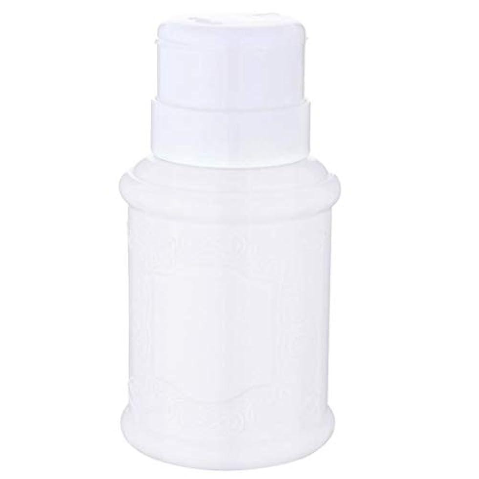 稼ぐそこ興味T TOOYFUL 空ポンプ ボトル ネイルクリーナーボトル ポンプディスペンサー ネイル ポンプディスペンサー 全3色 - 白