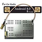 T-One PX5 Car Radio CPU Board,Android 8.0,Octa-Core,4GB RAM,32GB ROM GPS Navigation Core Board,Fit for PX3 Aftermarket Radio Upgrade,Biggest Memory CarPlay Stereo,Navigation Sound System Upgrade.