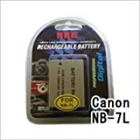 キャノン(CANON) NB-7L デジカメ用 互換バッテリー(M)