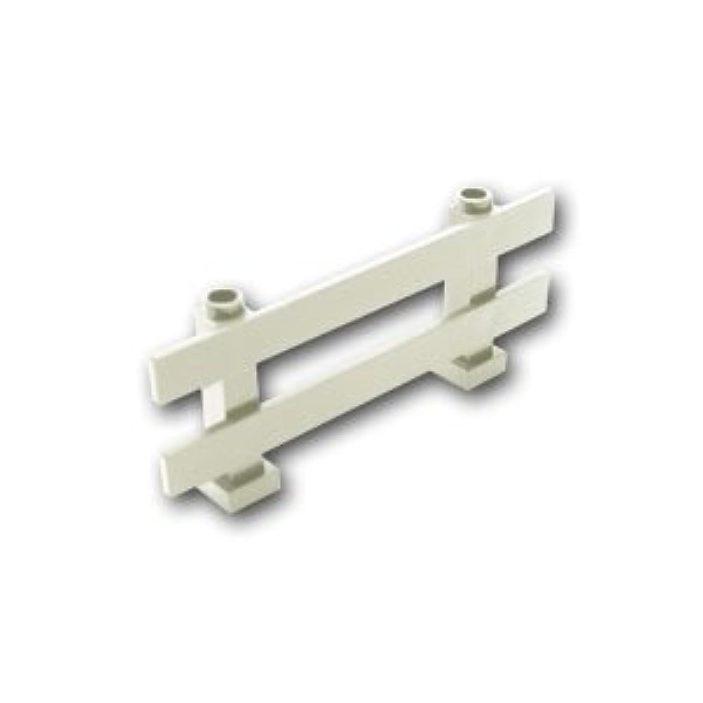 レゴブロックパーツ フェンス 1 x 8 x 2:[White / ホワイト]【並行輸入品】