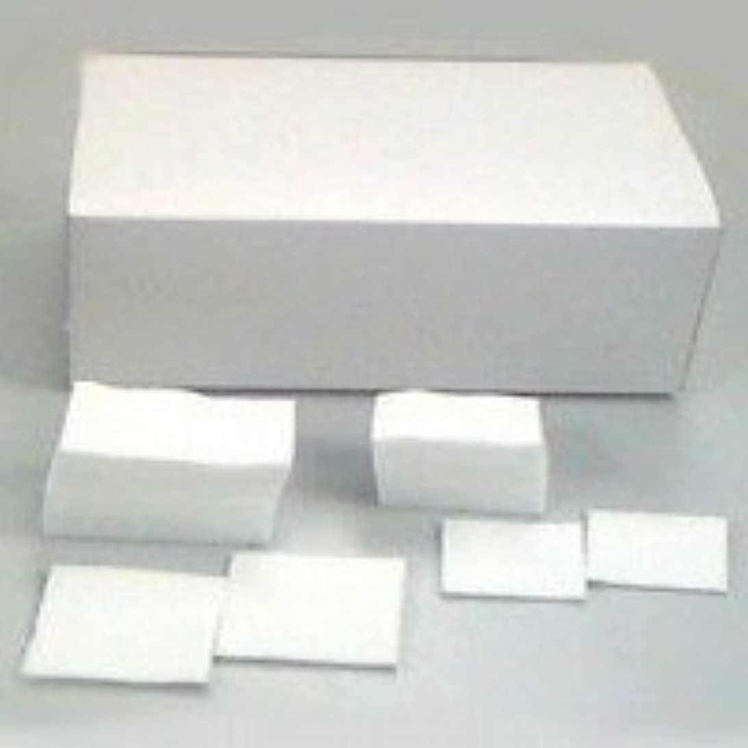 カプセルオレンジ郵便物コットン WJカット綿 6cm×8cm(500g/約560枚)