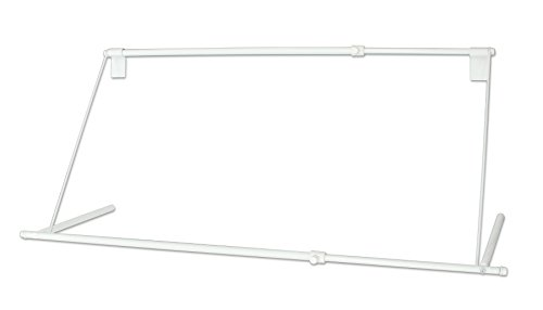 平安伸銅工業 エアコンハンガー 物干し 伸縮式 幅80~109cm 耐荷重5kg ホワイトACH-2