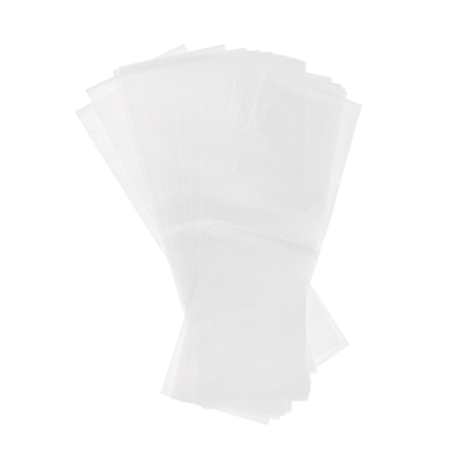 過度のネコ潜在的な約50枚 毛染め 分版用紙 プラスチック製 染毛紙 色のハイライト おしゃれ染め 2仕様選べる - ホワイト