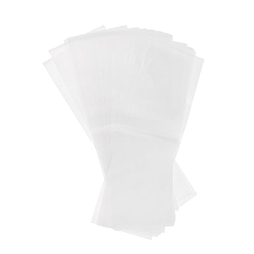 水陸両用悲しむプレート約100個 毛染め サロン プラスチック 染毛紙 色のハイライト 分離シート 再利用可能
