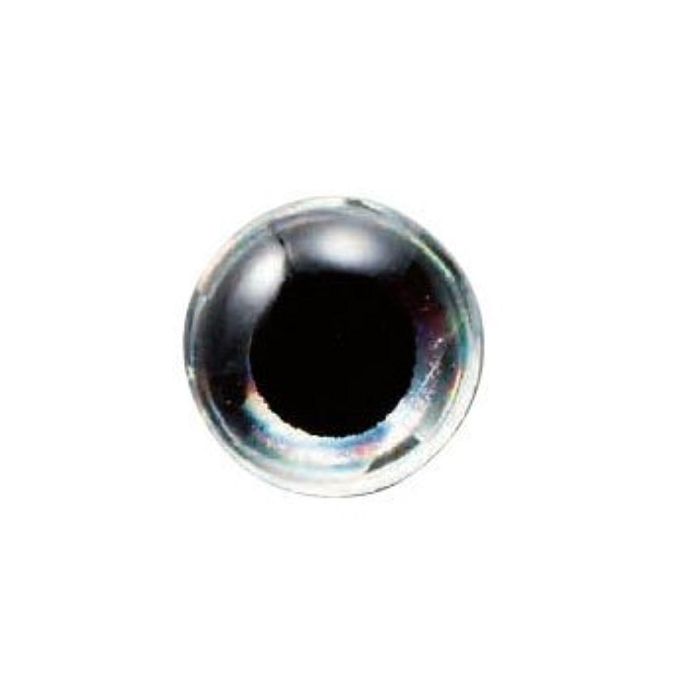 テーマ拍手するフロント【NAKAZIMA/ナカジマ】アイボールシート ワッペンタイプ  6mm 黒銀 6849 068498