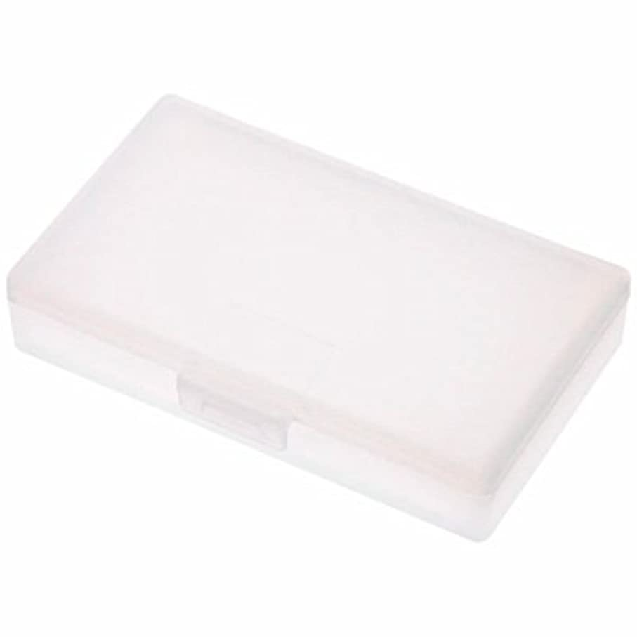 不適類推腹痛無印良品 ポリプロピレンヘアピンケース 約37×63×厚さ12mm