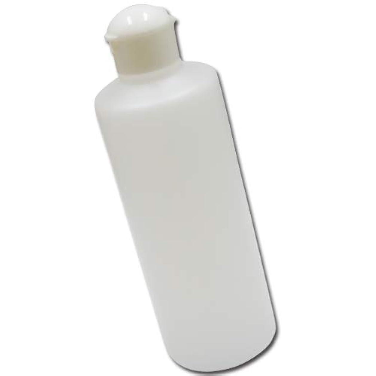 時期尚早欺持続的詰め替え容器ワンタッチキャップ300ml (半透明)│業務用ローションやうがい薬、液体石鹸、調味料、化粧品などの小分けに便利なボトル