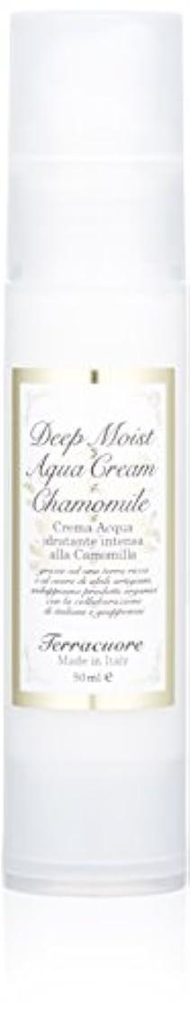 褐色軽ペルソナテラクオーレ カモミール ディープモイスト アクアクリーム 50mL
