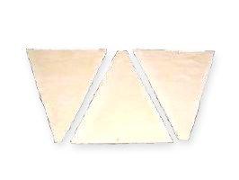 冷凍生地 クロワッサン板 三角 ISM 業務用 1ケース 43g×130