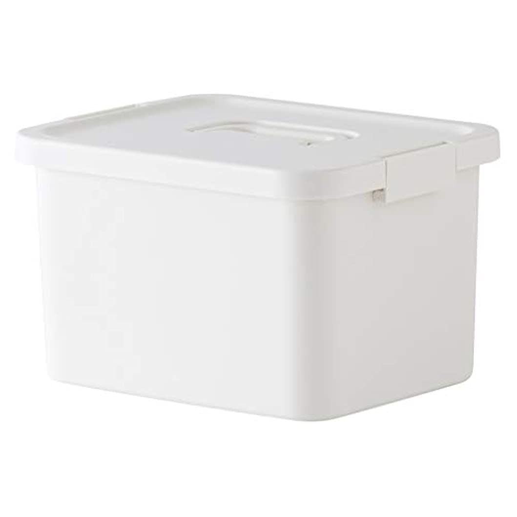 徐々にメッセンジャー青LLSDD プラスチック携帯用ピルボックス二重箱の医学の収納箱の家運ぶのに便利な多層医学箱旅行(色:白)