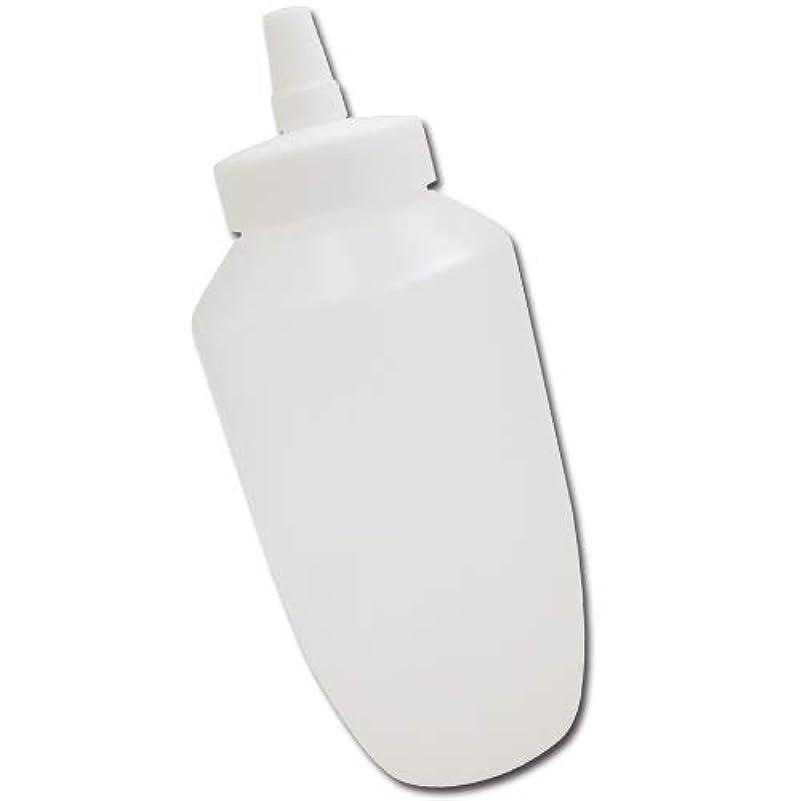 粘性のライターに賛成はちみつ容器740ml(ホワイトキャップ)│業務用ローションや調味料の小分けに詰め替え用ハチミツ容器(蜂蜜容器)はちみつボトルビッグな特大サイズ