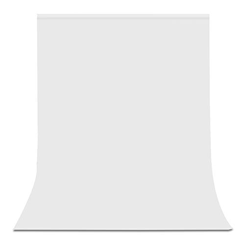 UTEBIT 背景 白 布 ポリエステル 生地 1.5m x...