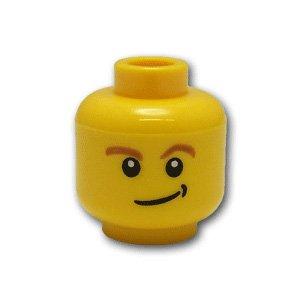 レゴミニフィグパーツ ヘッド - 作り笑い【並行輸入品】