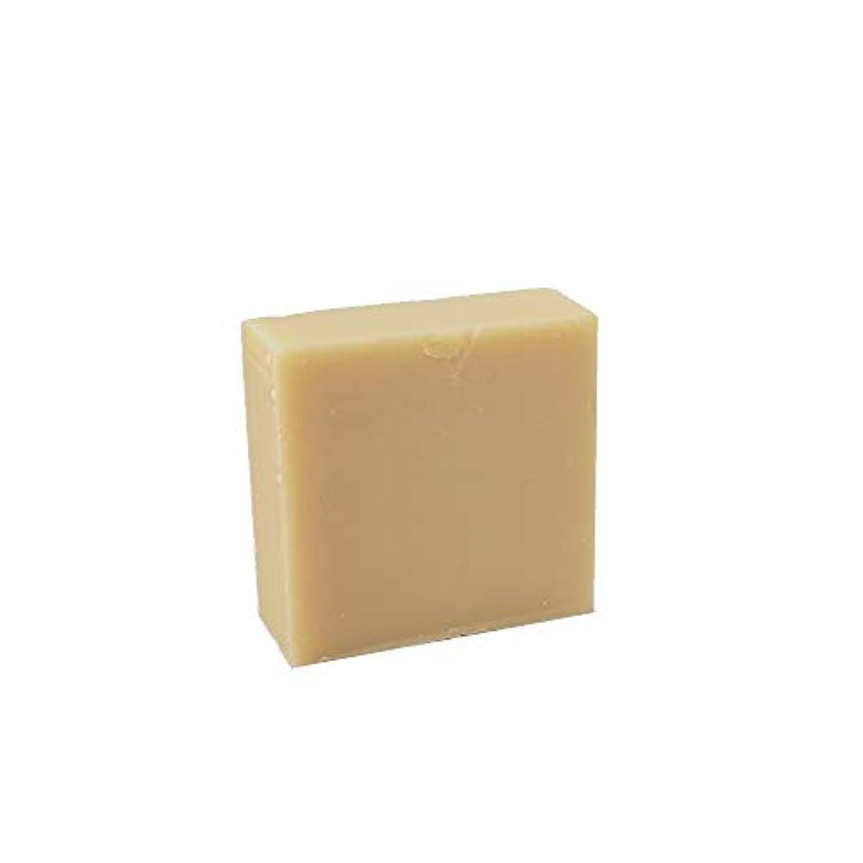 バルブ頬公平な石けん工房花華のマヌカハニー石鹸 コールドプロセス製法 80g