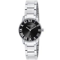 Tiffany Z1830.11.10A10A00A ティファニーAtlas Dome レディース腕時計 ブラック×シルバー [並行輸入品]