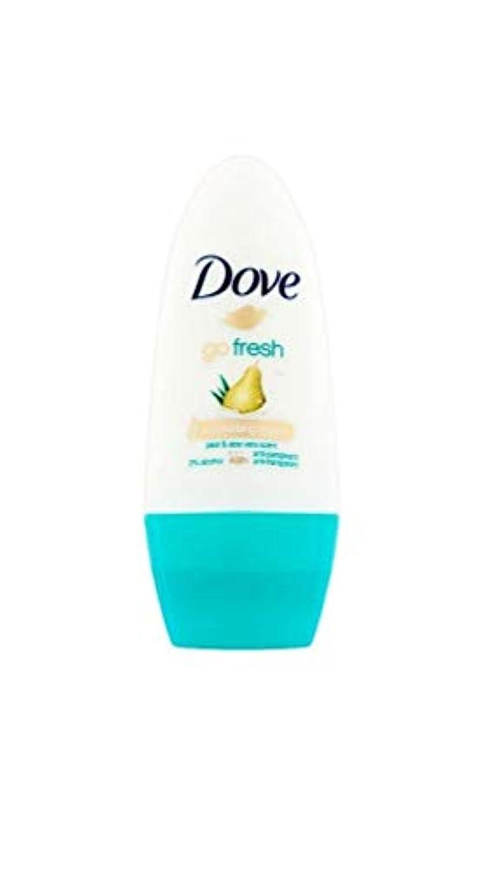 数兵隊ワインドーブ新鮮になるナシ、アロエベラ香り制汗剤デオドラントロール女性の為に - Dove Go Fresh Pear & Aloe Vera Scent Anti-perspirant Deodorant Roll On for...