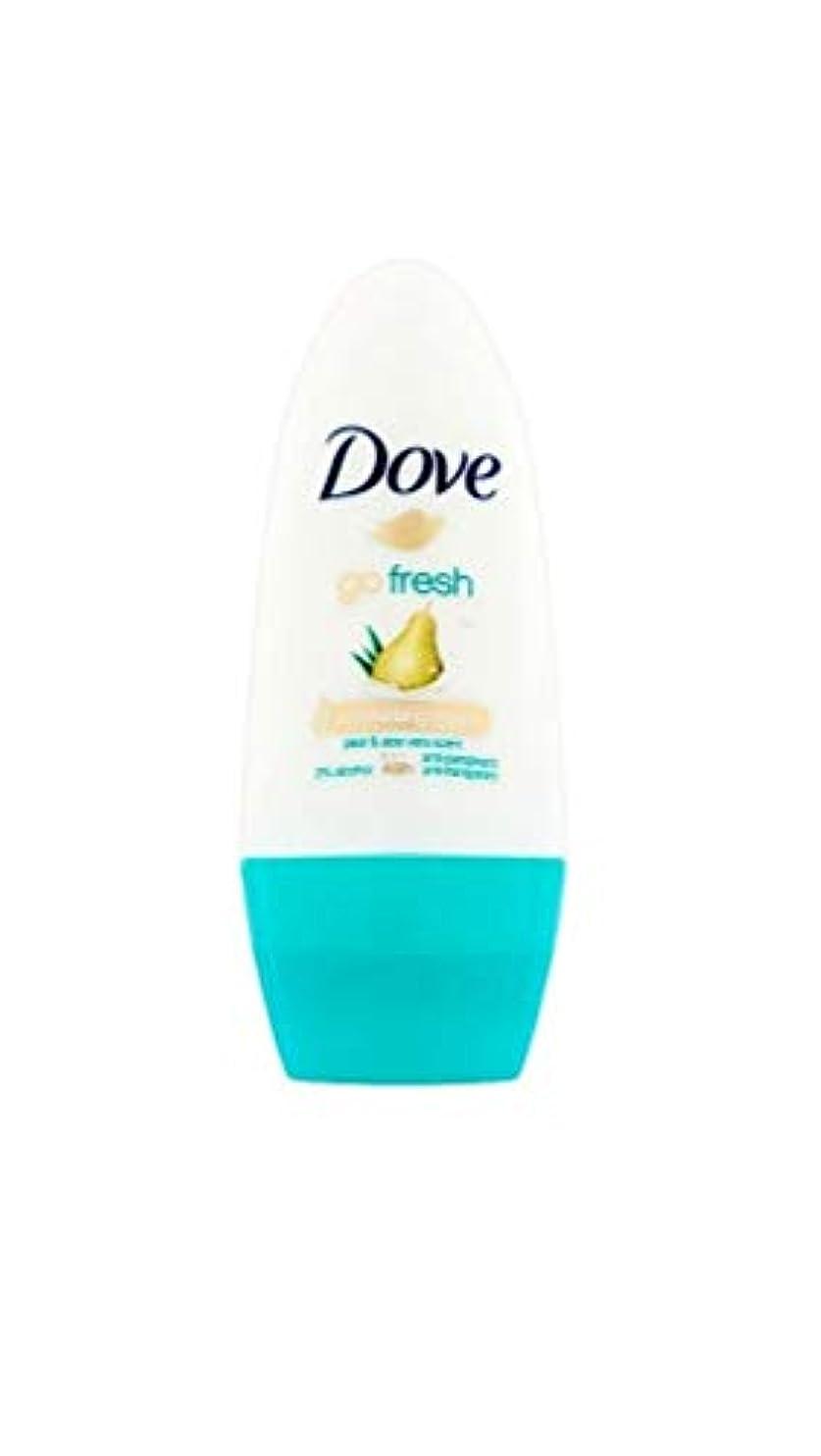 貫通間隔健全ドーブ新鮮になるナシ、アロエベラ香り制汗剤デオドラントロール女性の為に - Dove Go Fresh Pear & Aloe Vera Scent Anti-perspirant Deodorant Roll On for...