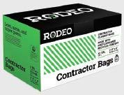 ロデオ42ガロン、頑丈、20カウント、環境に優しい、契約者Trash Bags