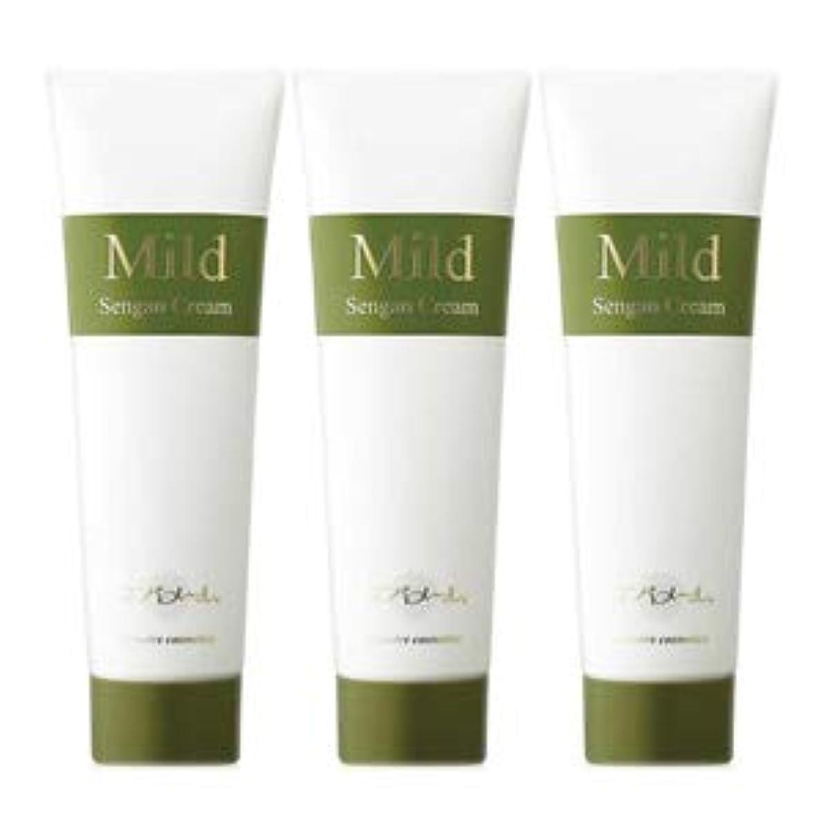 適応するヒゲ証明エバメール マイルド洗顔クリーム 200g 3本セット