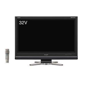 シャープ 32V型 ハイビジョン 液晶 テレビ AQUOS LC-32D30-B  ブラック
