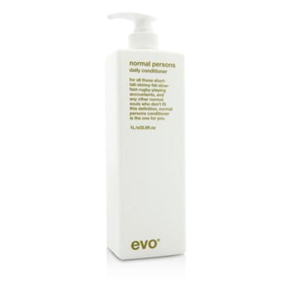 嫌悪寛大な分割[Evo] Normal Persons Daily Conditioner (For All Hair Types Especially Normal to Oily Hair) 1000ml/33.8oz
