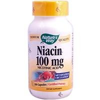 海外直送品 Nature's Way Niacin, 100 Caps 100 mg