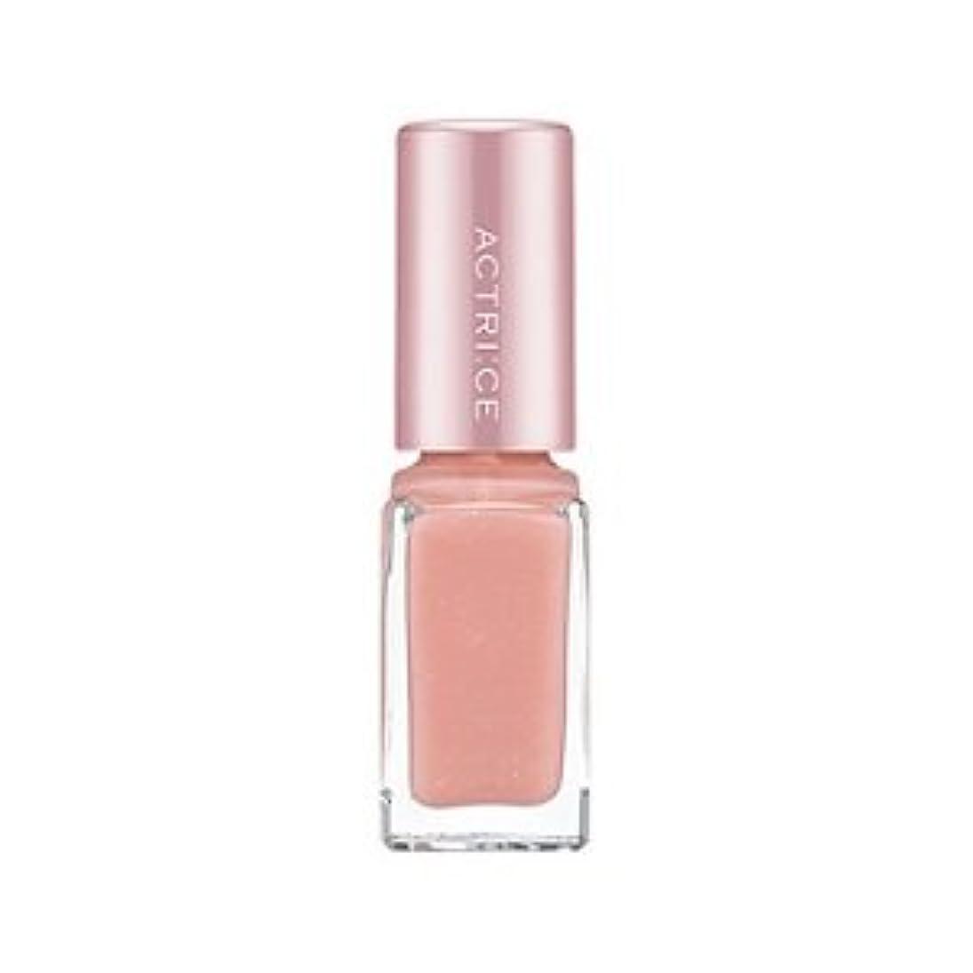 カレッジバイナリ飾り羽ノエビア アクトリース ネイル 01 クリーミィ ピンク