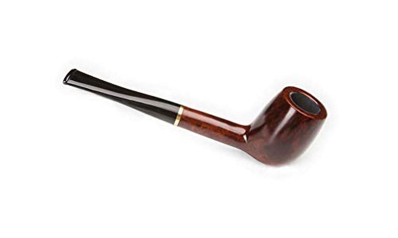 軽減空いている味付け型の直角の純木のタバコの管、ハンドメイドのタバコのろ過メンズ喫煙セット,B